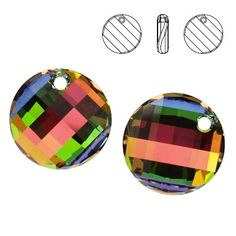 6621 Twist 18mm Crystal Vitrail Medium Protective Layer  Dimensions: 18,0 mm Colour: Crystal Vitrail Medium Protective Layer 1 package = 1 piece