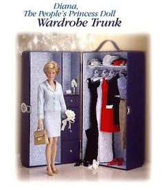 Princess Diana - Franklin Mint advertisement - picture by Catherine Ford-Barbiero via FM