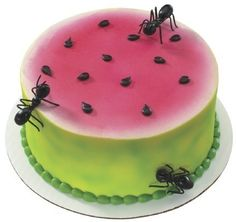 Picnic 3D Ants Cupcake Cake Decoration Layons Toppers 6 so wanna make for my nieces 3rd birthday!