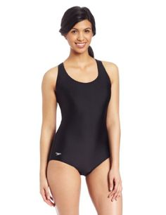 Speedo Women's Long Powerflex Moderate Ultraback Swimsuit