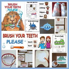 Brush Your Teeth, Please! Teeth and Dental Health Crafts and Activities