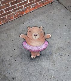 David Zinn in Ann Arbor, USA, 2020