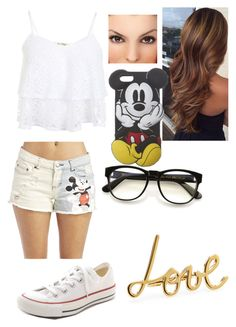 """Mickey Mouse"" by icons-imagines-roleplay ❤ liked on Polyvore featuring Wet Seal, Miss Selfridge, Converse, Wildfox and Lanvin"