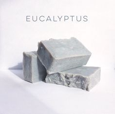 """We freaking love eucalyptus, maybe even more than koalas do.   Our eucalyptus bar has a light and clean scent which is great for waking up sleepy skin, helping to ease acne symptoms, helping to clear up pimples without over-drying your skin. It can even help soothe a dry itchy scalp if used as a shampoo! SOAP QUICK FACTS: Weight: 3.75 oz. – 4.25 oz. Dimensions: 3.5""""x2""""x1""""  Ingredients: Organic coconut oil, canola oil, extra virgin olive oil, water, lye, eucalyptus essential oil, cedarwood..."""