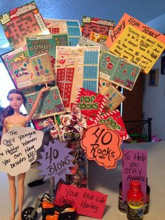 40th Birthday Present Ideas For Friend Inside The Turning Gift Basketmy Was Sad Templates
