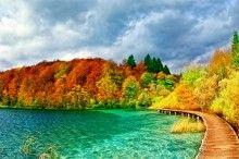 Fototapeta F383 - Park Narodowy Jezior Plitwickich