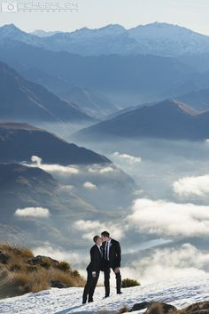 Same Sex Queenstown Wedding #nzwedding #qtwedding #queenstown