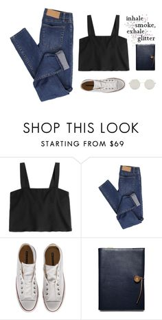 """Smoke & Glitter"" by skydancer18 ❤ liked on Polyvore featuring 3.1 Phillip Lim, Cheap Monday, Converse, Coach and simple"