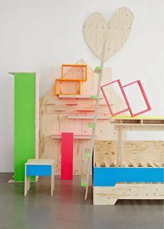 Ta.Ta. Unconventional Design For Kids: ISPIRAZIONI PER LA CAMERETTA