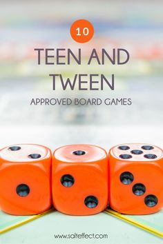 We compiled this list of board games based on suggestions from teens and tweens themselves. Not only are these games fun to play, but they also teach important life skills like cooperation, strategy, patience and sportsmanship. Take a look and see how many you already own! #familyfun #familygamenight Tween Games, Games For Teens, Raising Teenagers, Parenting Teenagers, Screen Time For Kids, Reading Comprehension Skills, Fun Board Games, Hacks, Old Games