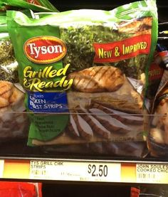 Tyson Grilled and Ready Chicken only $1.40 with New Coupon