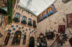 Inside Sissi House in Aleppo, Syria.