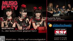Musig Pub TV || J-Pop/Metal-Band BABYMETAL with the Swiss-Rockers from Fueled By Grace