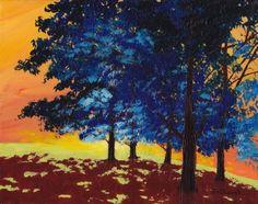 Trees, fauve
