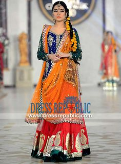 Style 360 Pakistan Fashion Shows 2014 Bridal Wear Women Fashion