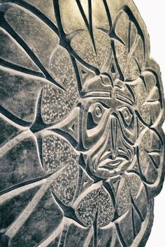 Moon on Earth close up, carved into marble by Daniel Poisson Marble Carving, Stone Carving, Sculpture Art, Sculptures, Victoria Bc Canada, Hammer And Chisel, Eye For Detail, Stone Work, The Rock