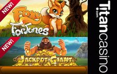 New Slots Rolled out at Titan Casino - Online Casinos Online  Titan Casino, the top online casino that is part of the Titan brand of gaming products, has rolled out several brand new games recently.  http://www.onlinecasinosonline.co.za/blog/new-slots-rolled-out-at-titan-casino.html