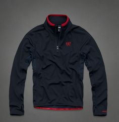 Men's A&F Active Half-Zip Pullover $30 plus Free Shipping @ Abercrombie & Fitch - HotDeals Check us out at www.hotdeals.com or on FB! www.facebook.com/hotdealscom