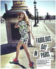 SNSD's Jessica // Vogue Girl Korea // June 2013