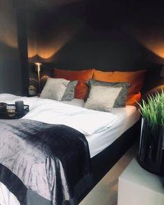 10 hjem malt i Elegant 1434 fra Jotun Sweet Dreams, Master Bedroom, Elegant, Furniture, Lifestyle, Home Decor, Modern, Rome, Master Suite