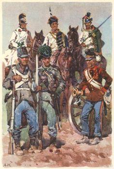 Österreichische Soldaten 1866