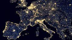 Nasan Suomi -satelliitti tallensi yöllisen Euroopan – katso huikea kuva - Ulkomaan uutiset - Ilta-Sanomat