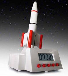 Rocket Alarm Clock