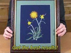 Frame Needlework? Try The Best Framing System In The World! Grip-n-Frame