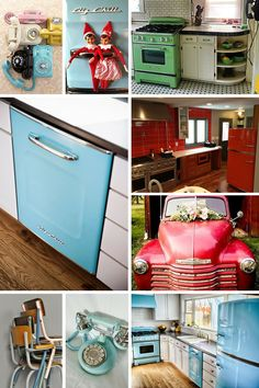 Big Chill creates modern appliances with retro appeal. Their cool retro fridges comes in eight colors—and more than 200 custom shades. Click to discover more today! #Retro #BigChill
