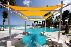 pool or the beach? At Katathani Phuket Beach Resort, Thailand
