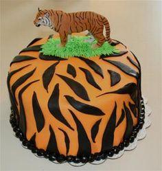Tiger Stripes Cake