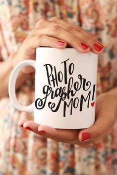 Photographer Mom Mug gift