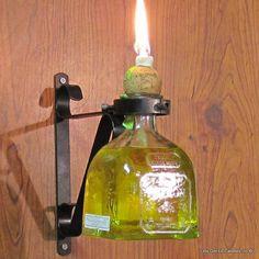 Bottle Tiki Torch