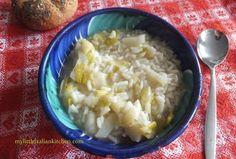 leek and potatoes soup