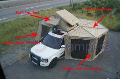 Roof Top Tent with Foxwing Awning - China Rooftop Tent, Rooftop Tents | Made-in-China.com Mobile
