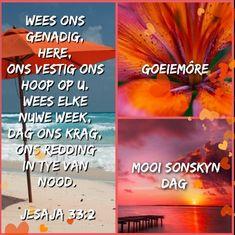 Evening Greetings, Goeie Nag, Goeie More, Afrikaans, Good Morning, English, Inspirational, Gallery, Buen Dia