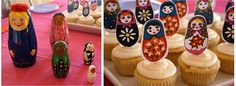 Matryoshka Baby Shower Ideas - when I have a girl, this will be my baby shower theme. FRIENDS: TAKE NOTE. One of you needs to throw it!