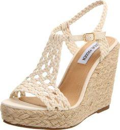 sandalias altas con plataforma con tiras piel