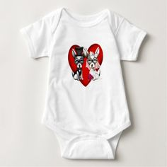 #Puppy Love Baby Bodysuit - #chihuahua #puppy #dog #dogs #pet #pets #cute