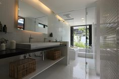 Sakurayama-Architect-Design의  화장실