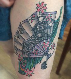 Neotraditional piece done at Cream City Tattoo City Tattoo, Triangle, Cream, Tattoos, Artist, Creme Caramel, Tatuajes, Japanese Tattoos, Tattoo