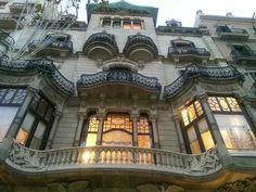 Lovely architecture on Passieg de Gracia