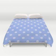 Purple Polka Dots Duvet Cover by KCavender Designs - $99.00 #Duvet #Cover #Bedding #Bedroom #Decor By #KCavenderDesigns