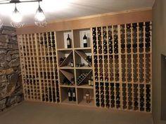 Casiers magnum, Casiers à bouteille, casier vin, rangement du vin, aménagement cave, casier bois