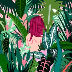Day 34/100 days of Plants: Jungle Girl Follow me at @marieryyoung
