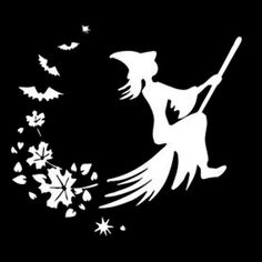 A 1403-Mini Witch On Tour WITCH Sticker Car Decal Sticker Tuning
