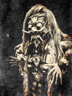 Raganda is the demon queen of the leyaks in Bali