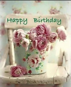 Find the most Beautiful Happy Birthday Flowers HD Images list for your special someone's birthday, You can send some cute Birthday Flowers For Her/him. Happy Birthday Words, Happy Birthday Vintage, Happy Birthday Flower, Birthday Blessings, Happy Birthday Pictures, Happy Birthday Messages, Birthday Love, Happy Birthday Greetings, Birthday Wishes Quotes