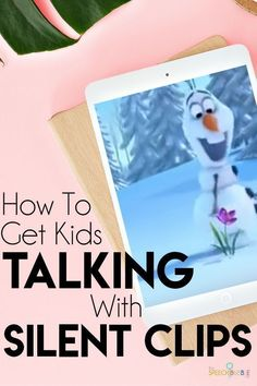 Trouble getting your students to talk in your speech therapy lessons?  Try using silent video clips!!  This blog has some great ideas for your special education classroom and speech therapy lessons.  Check it out! #SLP #OT #internet #technology #ideas #language #development #iPad #ideas #activities #communication #BackToSchool