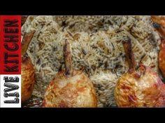 Πρωτοχρονιάτικη συνταγή Φαντασμαγορικο Ρύζι με Κοτόπουλο - Chicken Lollipop with Cristmas wild rice - YouTube